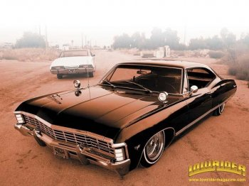Chevrolet Impala с мощным мотором