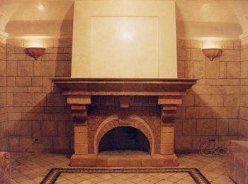 Строим сами: камин в частном доме.
