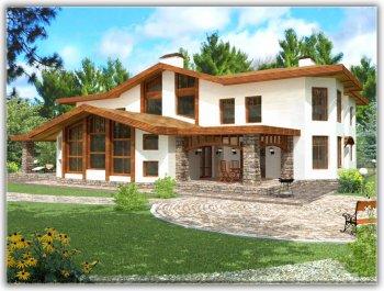 Красивый дом и интерьер в нём